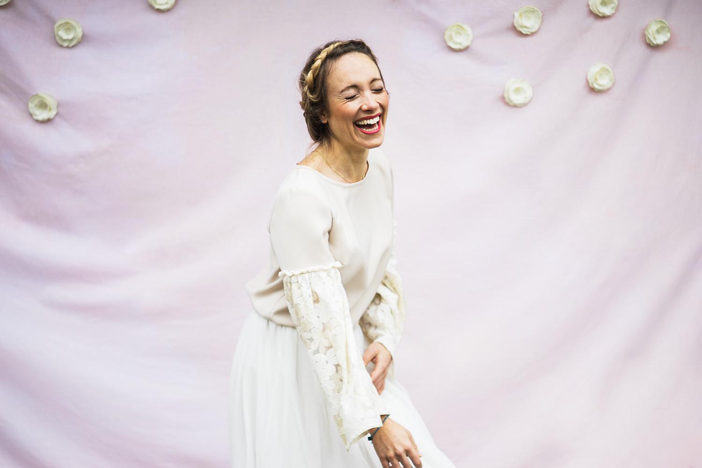 Blouse Juliette beige Aurore Gwladys
