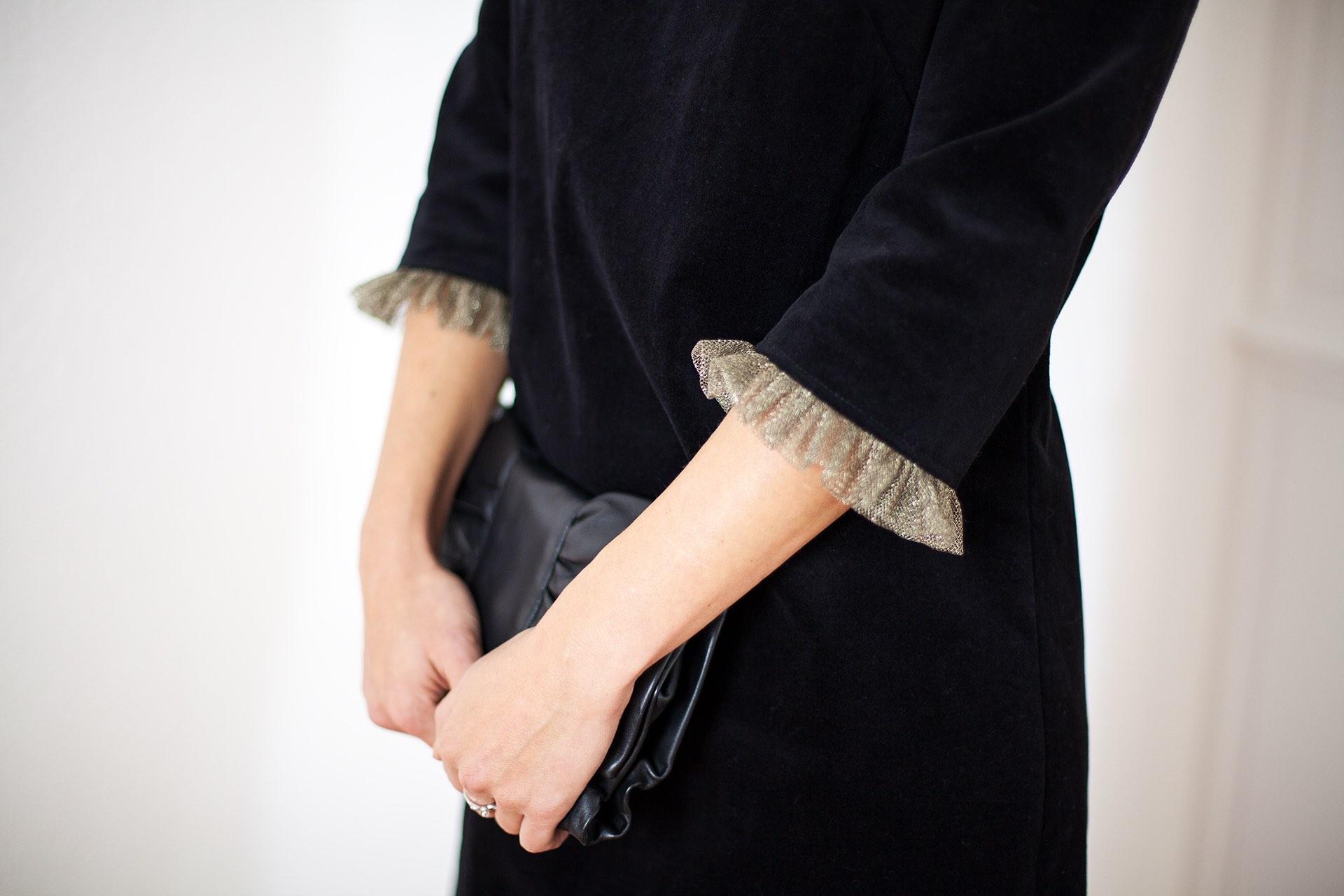 Robe noire Chloé Aurore Gwladys