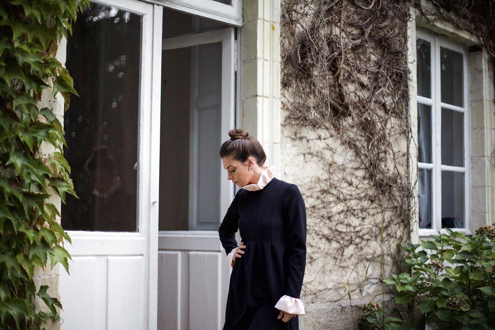 Robe noire Victoria Aurore Gwladys