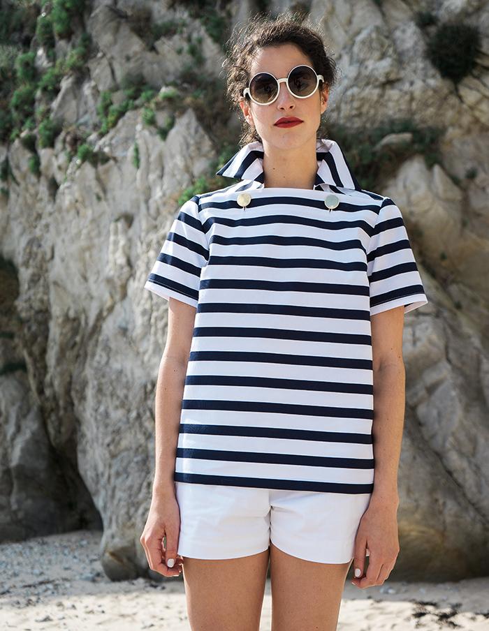 Tee-shirt manches courtes Louise Aurore Gwladys