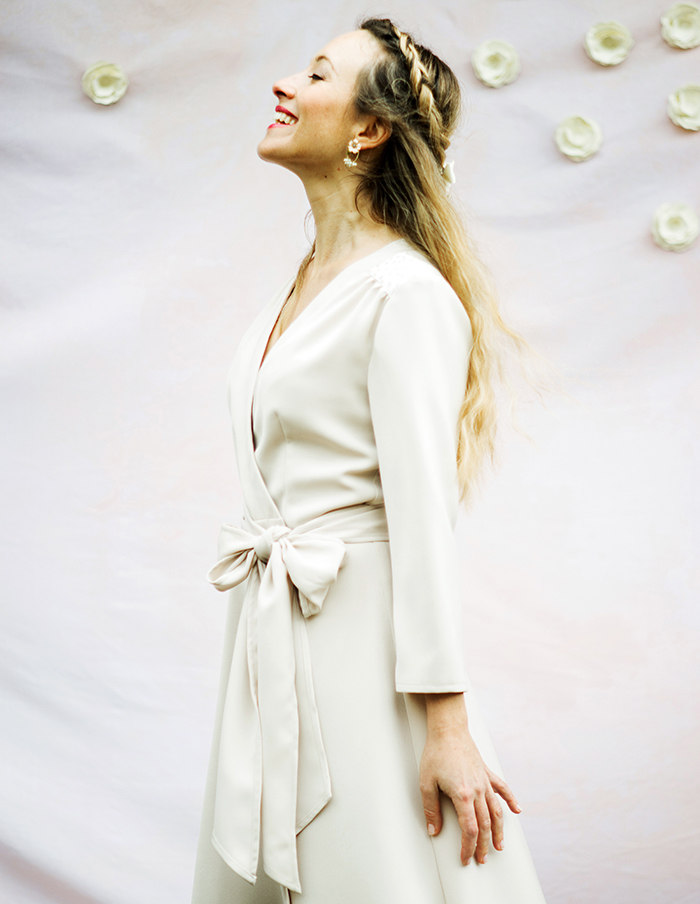Robe porte-feuille Valentine Aurore Gwladys