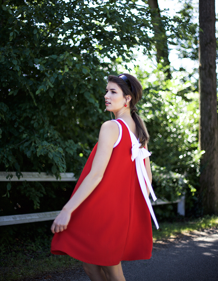 Robe rouge Donna Aurore Gwladys