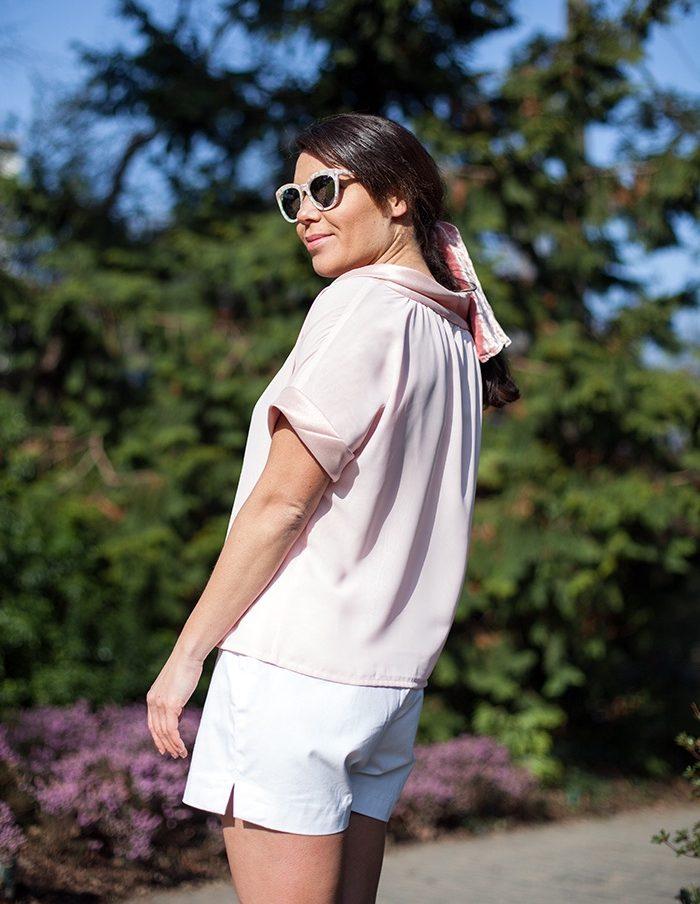 Top Chiara rose Aurore Gwladys