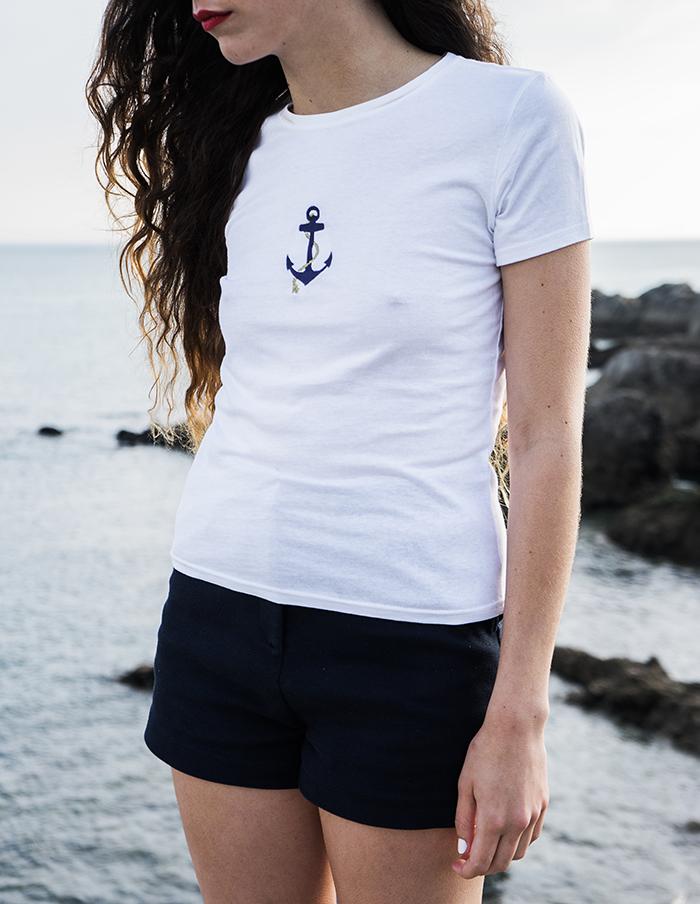 T-shirt manches courtes Jane Aurore Gwladys