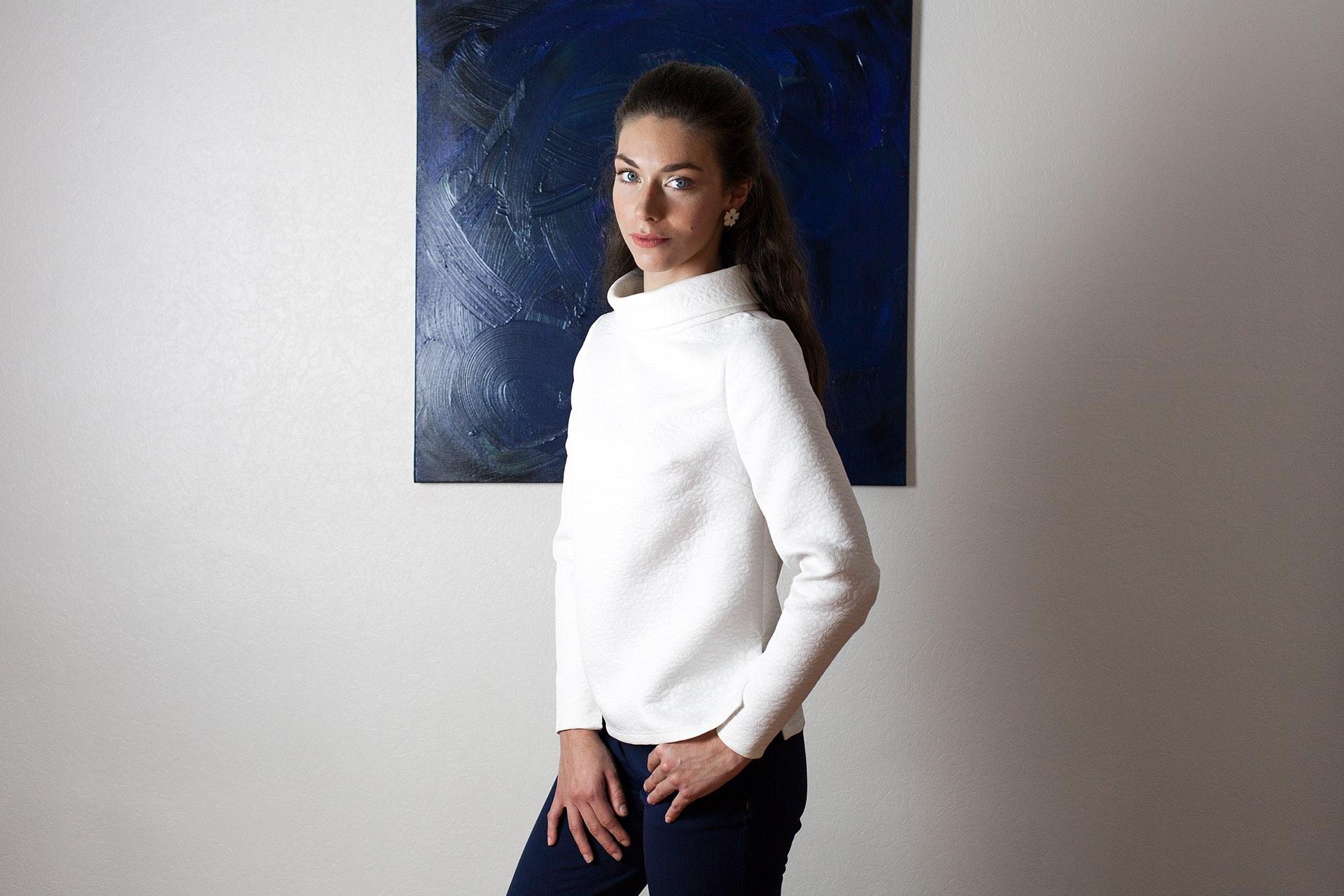 Top creme Mia Aurore Gwladys