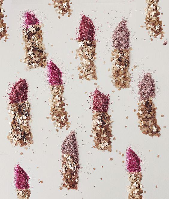 Lipstick Glitter