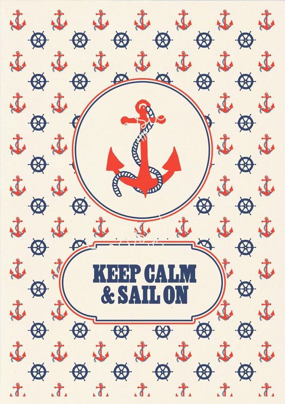 Keep calme and sailon